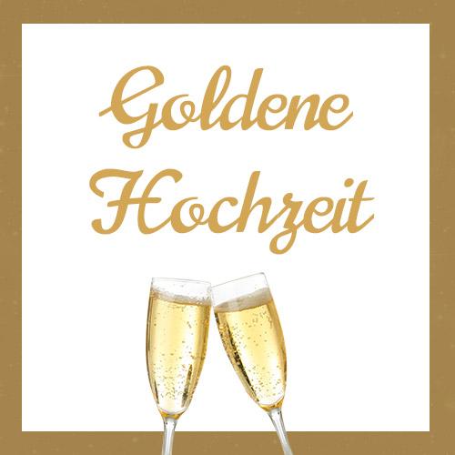 Goldene Hochzeiten