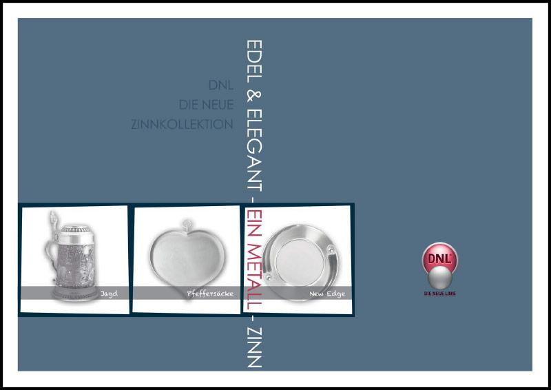 Katalog mit Zinnartikeln – Edel und elegant