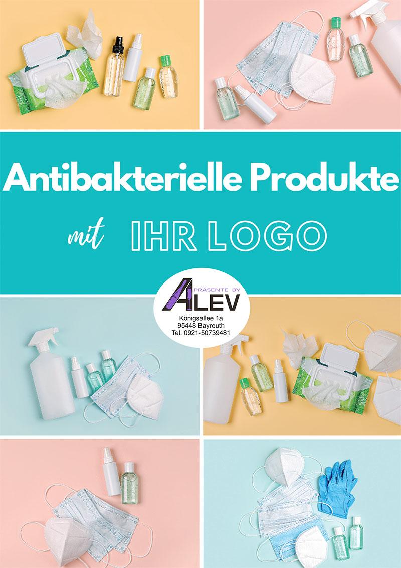Alev Katalog mit antibakteriellen Produkten